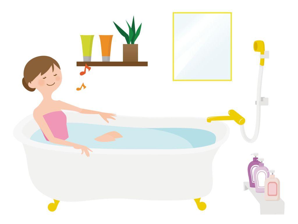 お風呂の黒カビ掃除・タイル ...