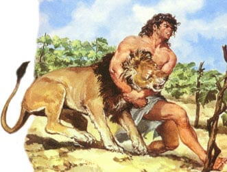 sanson-hombre-matando-leon