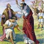David, el rey de Israel