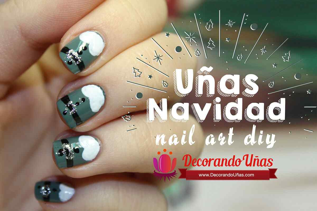 Fotos De Decorados De Uñas UÑas NavideÑas 170 Espectaculares Decorados