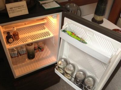 日光金谷ホテル 日本最古リゾートホテル クラシック デラックスツイン 冷蔵庫