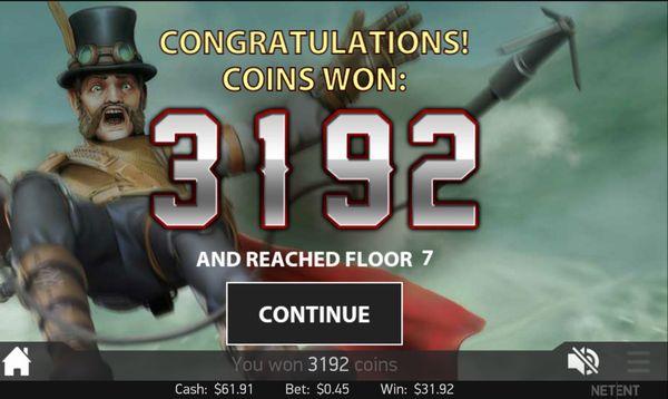 ベラジョンカジノ20151107_Steam Tower_2