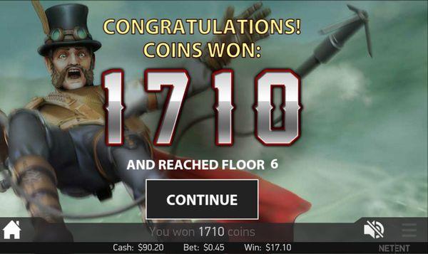 ベラジョンカジノ20151107_Steam Tower_4
