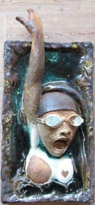 Bertrand Thibault, skulpturelt vægrelief.