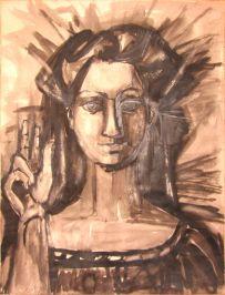 Francoise Gilot, La Femme Noir.