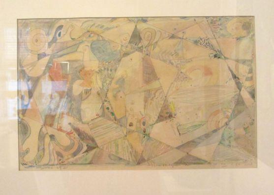 Frank Rubin, akvarel.