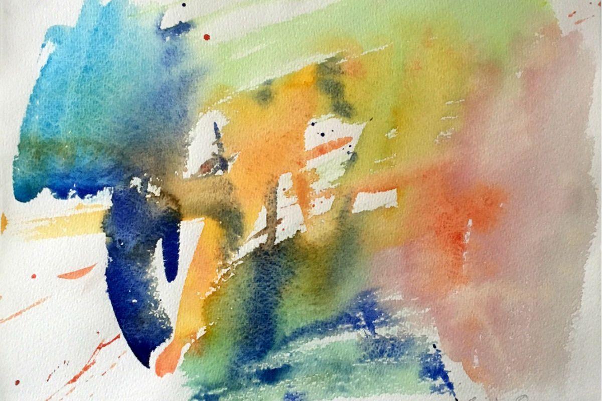 Erik Ortvad - Akvarel - risomdk