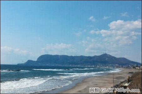 GLAY リーダー TAKURO 久保琢郎 青春時代 ナイーブ ロマンティック 函館山 悩み 面白くないこと 機会 登る 景色 眺める 癒やし 解消 写真 画像 朝 海辺 大森浜