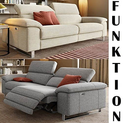 Couchgarnitur Mit Relaxfunktion Designer Sofa Funktionscouch Funktionsofa Stoff