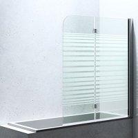 BxH:120x140cm Duschabtrennung/Duschwand fr Badewanne aus ...