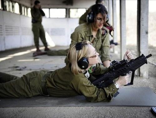 イスラエル軍の女性兵士119