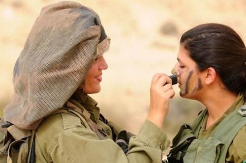 イスラエル軍の女性兵士127