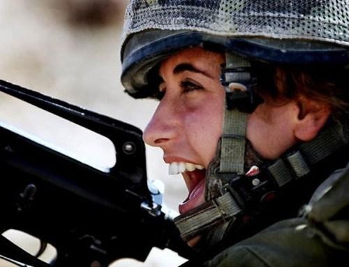イスラエル軍の女性兵士141