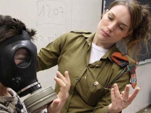 イスラエル軍の女性兵士160