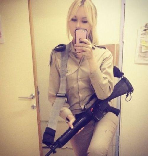 イスラエル軍の女性兵士164
