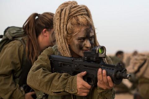 イスラエル軍の女性兵士2