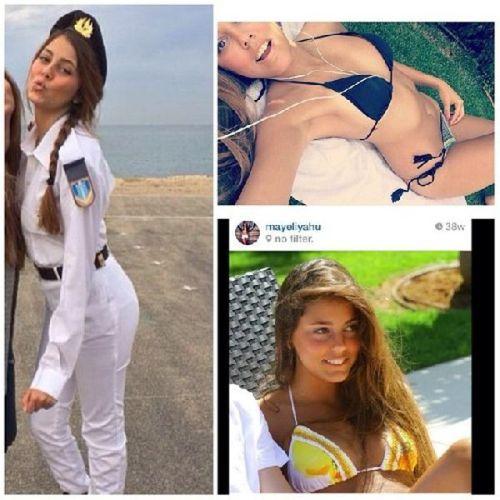 イスラエル軍の女性兵士25