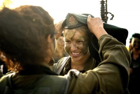 イスラエル軍の女性兵士30