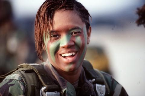 イスラエル軍の女性兵士32