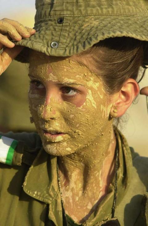 イスラエル軍の女性兵士38