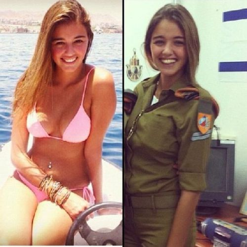 イスラエル軍の女性兵士52