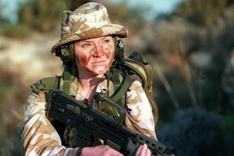イスラエル軍の女性兵士6