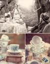 不思議の国のアリスっぽい結婚式が素敵な画像123