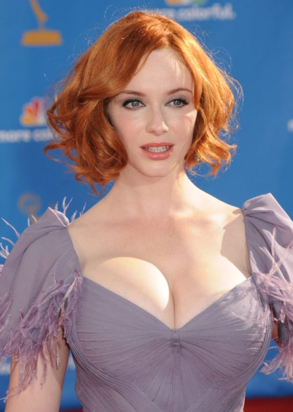 Christina Hendricks - 62nd Annual Primetime Emmy Awards - Arrivals, Hollywood, 08/29/2010