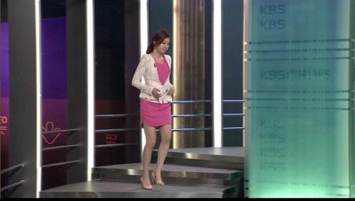 韓国の女子アナのスタイルがよかった.10