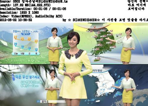 韓国の女子アナのスタイルがよかった.15