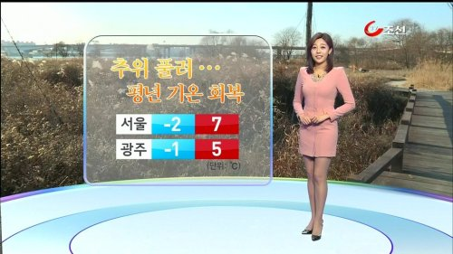 韓国の女子アナのスタイルがよかった.6