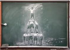 黒板アート1