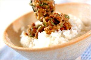 納豆のレシピ