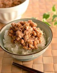 納豆とツナ