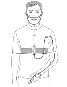 簡易検査・装着図