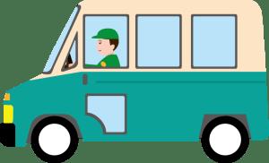 ゴルフバッグを配送する運送会社