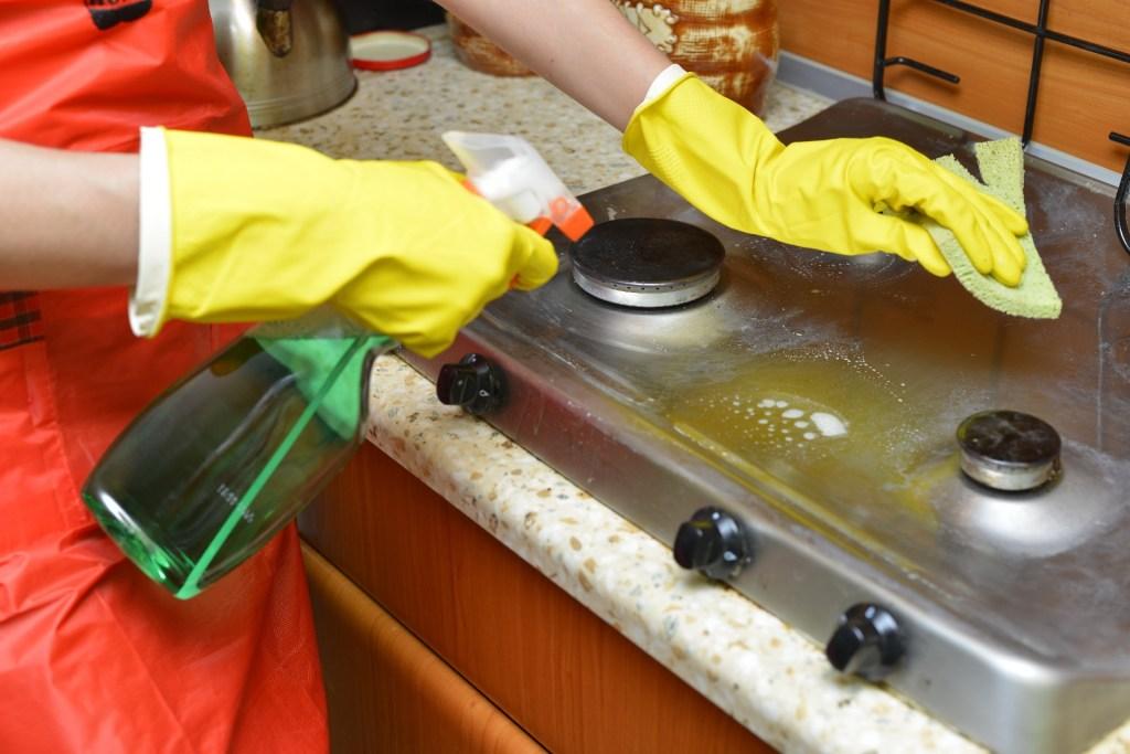 キッチン 大掃除