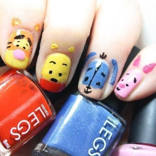 decoracion de uñas de Winnie Pho