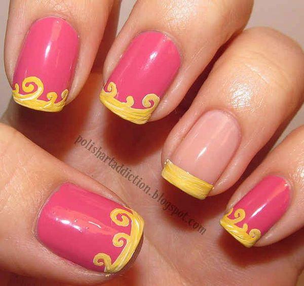 decoracion de uñas de disney