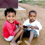 Kids Belo Chemise rouge