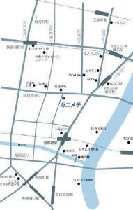 ガニメデ 周辺地図 浅草橋