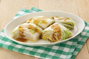 白菜のミルフィーユサラダ