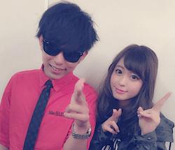 大川藍(右)