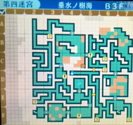 世界樹の迷宮X,第四迷宮