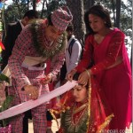 Sabin Shrestha got married to Jenisha KC in Aadhi Bato