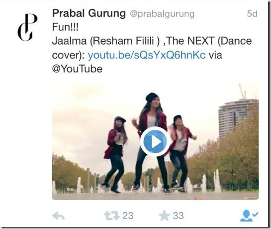Resham Filili, official video of Jalama delayed