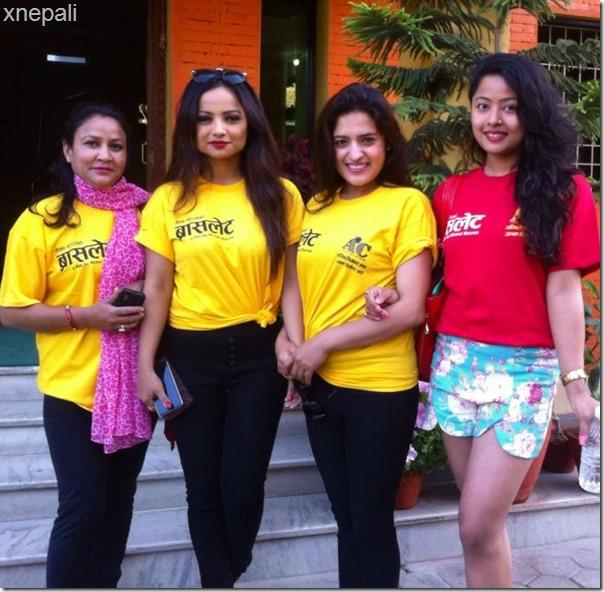 Bracelet shooting starts in Pokhara