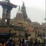 7.5 magnitude earthquake in Kathmandu (video)