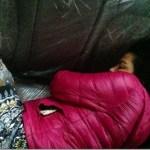 Rekha Thapa and Himgyap Lama sleep in car on fear of earthquake aftershocks