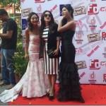 Namrata Shrestha seen with boyfriend in Adhakatti premier show ?